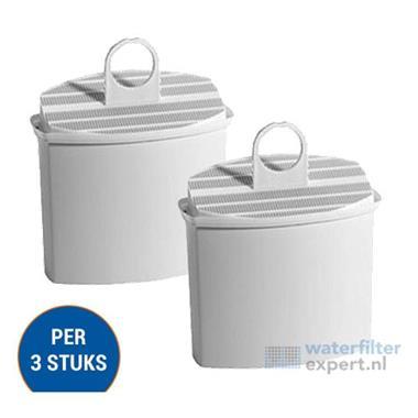 Grote foto braun kwf2 waterfilter 3 pack witgoed en apparatuur koffiemachines en espresso apparaten
