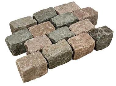 Grote foto zweeds graniet tuin en terras sierstenen en rotsen