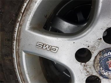 Grote foto saab velgen 15 inch auto onderdelen banden en velgen