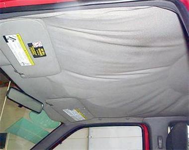 Grote foto heeft uw auto een loshangende hemel auto diversen overige accessoires