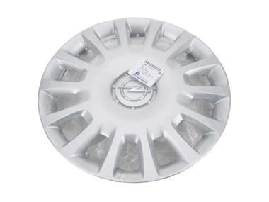 Grote foto originele gm opel wielkap radial cover 14 inch zilver adam c auto onderdelen accessoire delen