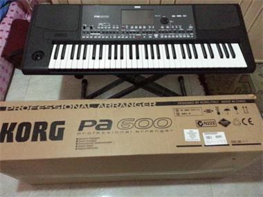 Grote foto korg pa 600 professional 61 key arranger muziek en instrumenten keyboards