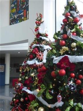 Grote foto feestelijke decoraties voor ondernemingen diensten en vakmensen feesten