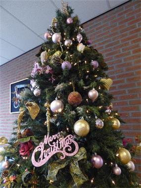 Grote foto kerstbomen voor bureau en kantoor huis en inrichting bureaus