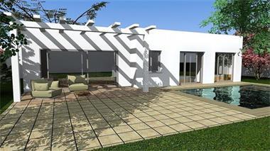 Grote foto design villa op maat bouwgrond niet inbegrepen huizen en kamers nieuw europa