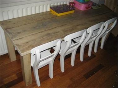 Grote foto kinderstoelen en tafels op maat van leyen hout kinderen en baby kinderstoelen