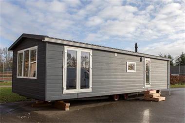 Grote foto nieuwe luxe chalets uit voorraad caravans en kamperen stacaravans
