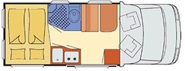Grote foto buscamper met een 2 persoons vast bed caravans en kamperen overige caravans en kamperen