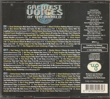 Grote foto greatest voices of the world cd en dvd verzamelalbums