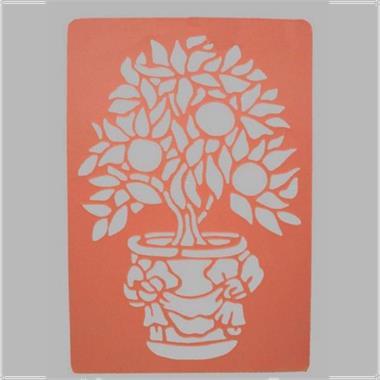 Grote foto verfsjabloon decoration paint van decoration doe het zelf en verbouw verf beits en lak