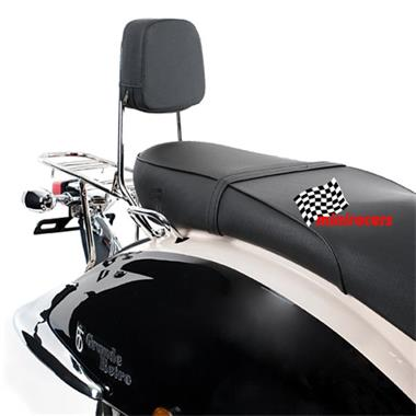 Grote foto scooter agm retro pimp fietsen en brommers scooters