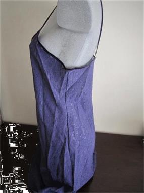 Grote foto frivool jurkje in paarse doorzichtige kant large kleding dames ondergoed en lingerie