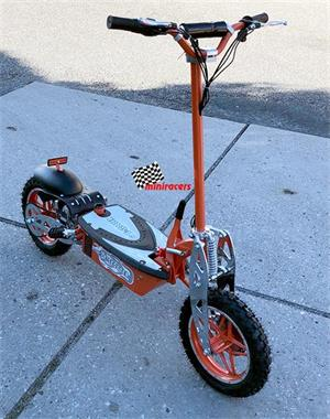 Grote foto electrische step inklapbaar fietsen en brommers steppen