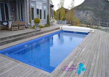 Grote foto zwembad swimming pool 8.50 x 3.70 x 1.55 tuin en terras zwembaden en spa