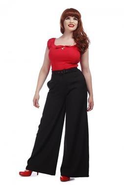 Grote foto collectif vicky crepe trousers. kleding dames broeken en pantalons