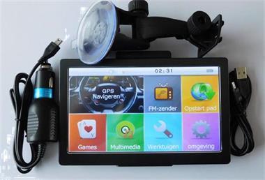 Grote foto 7 inch gps navigaties met nieuwste kaarten 2018 auto diversen overige accessoires