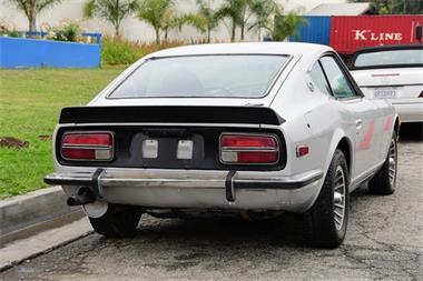 Grote foto aparte datsun 240 z automaat zilver 1972 auto nissan