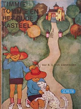Grote foto timmie tommie en het oude kasteel. 1972. boeken jeugd onder 10 jaar