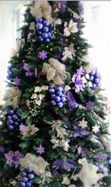 Grote foto grote kerstbomen met versiering bij u geleverd diensten en vakmensen entertainment