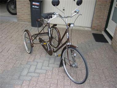 Grote foto te koop driewielfiets fietsen en brommers driewielers