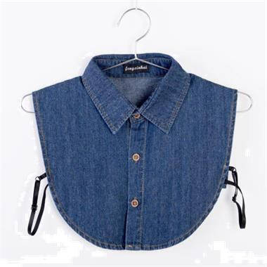 Grote foto betaalbaar los wit kraagje gratis verzending kleding dames blouses