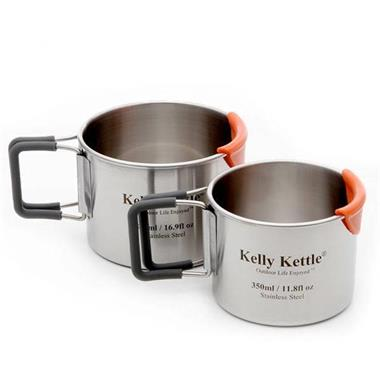 Grote foto kelly kettle camping cup set 350 500 ml caravans en kamperen overige caravans en kamperen