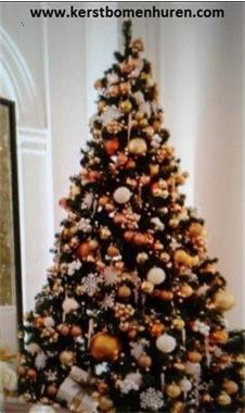 Grote foto kerstboom huren met versiering geleverd diversen kerst