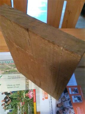Grote foto mahonie ongeschaafde planken doe het zelf en verbouw hout en planken