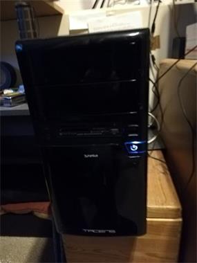 Grote foto mooie pc computers en software desktop pc