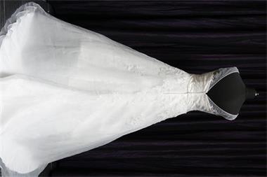 Grote foto bruidsjurk nieuw kleding dames trouwkleding