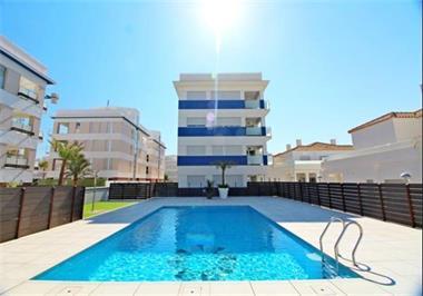 Grote foto appartement met zwembad spanje costa blanca vakantie spanje
