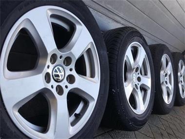 Grote foto 17 inch vw transporter t5 t6 velgen wielen banden auto onderdelen banden en velgen
