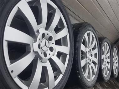Grote foto 19 inch mercedes gla glk vito viano velgen banden auto onderdelen banden en velgen