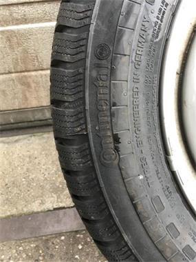 Grote foto 16 inch mercedes viano vito velgen sensoren winter auto onderdelen banden en velgen