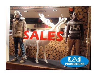 Grote foto kerst aankleding huren winter etalering diensten en vakmensen algemeen