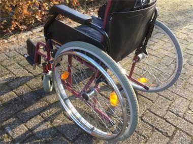 Grote foto rolstoel bischoff opvouwbaar volrubber banden beauty en gezondheid rollators