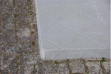 Grote foto betontegel 110 x 110cm betonplaat compact tuin en terras tegels en terrasdelen