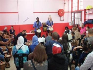 Grote foto afrikaanse muziek workshops instrumenten diensten en vakmensen cursussen en workshops