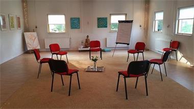 Grote foto intuitief schilderen en systemisch werken diensten en vakmensen workshops