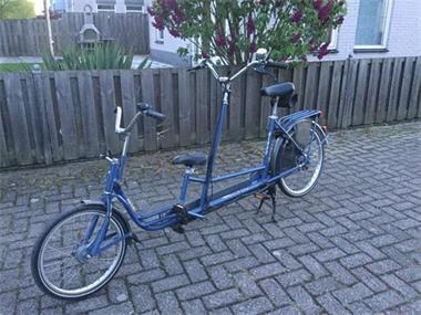 Grote foto ouderkind tandem vanaf 5 6 jaar fietsen en brommers bakfietsen
