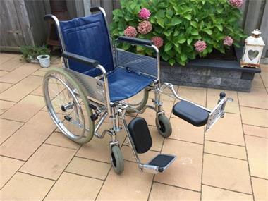 Grote foto degelijke vouwbare rolstoel opvouwbaar beauty en gezondheid rollators