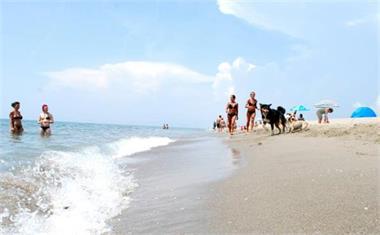 Grote foto toscane stacaravan aan zee camping itali vakantie autovakanties