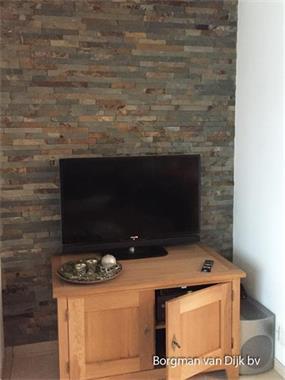 Grote foto steenstrips stonepanels rusty slate leisteen breukruw doe het zelf en verbouw materialen en producten