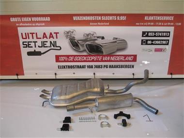 Grote foto complete uitlaat volkswagen beetle 2.0 auto onderdelen overige auto onderdelen