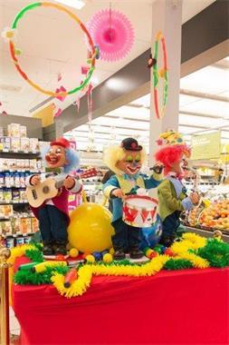 Grote foto fun op de winkelvloer diversen versiering