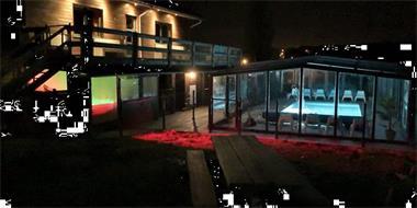 Grote foto groepsaccommmodatie overdekt zwembad sauna jacuzzi vakantie belgi
