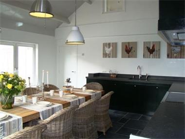 Grote foto prachtig luxe 10 persoons groepsaccommodatie met sauna in z vakantie nederland zuid