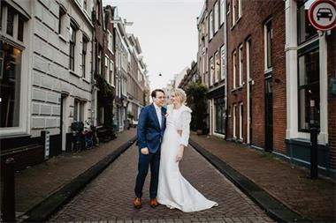 Grote foto trouwjurk pronovias tabina code 137 kleding dames trouwkleding