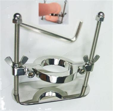 Grote foto stainless steel scrotum clamp erotiek sm artikelen