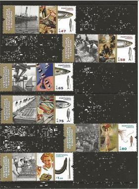 Grote foto portugal canning industry postzegels en munten thematische zegels